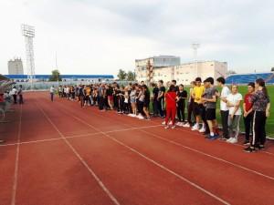 плановая сдача комплекса ВФСК «ГТО» среди выпускных классов