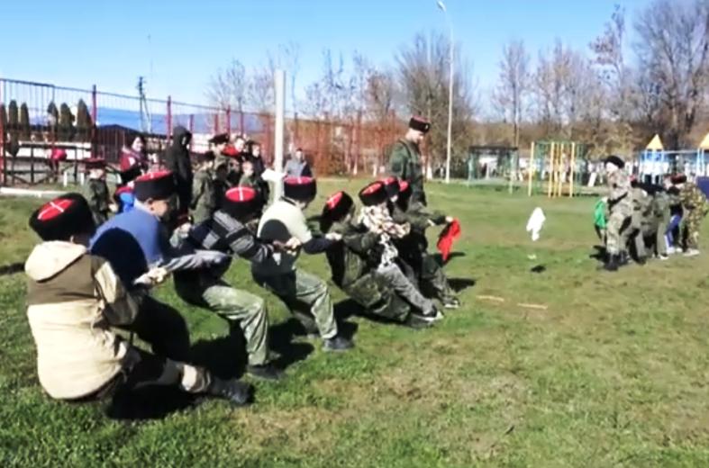 Соревнования казачьей молодежи Белореченского РКО