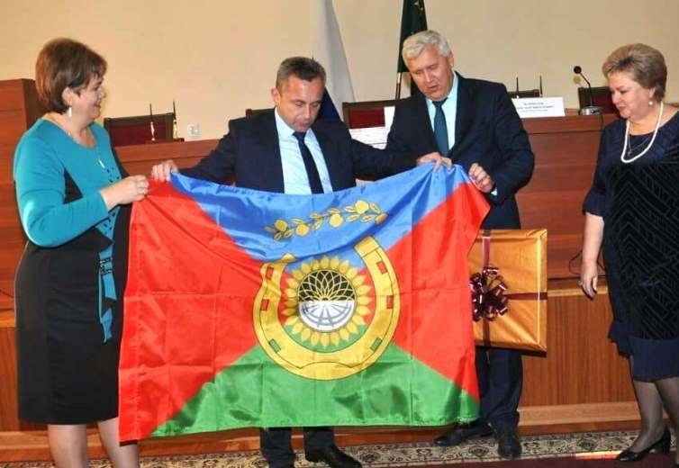 Между Белореченским и Гиагинским районами подписано соглашение о побратимстве