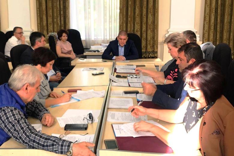 Три комиссии провели совместное заседание в Совете Белореченского района
