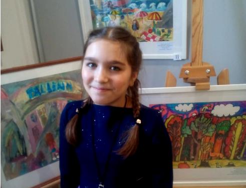 Ученица белореченской художественной школы – лауреат Международного конкурса