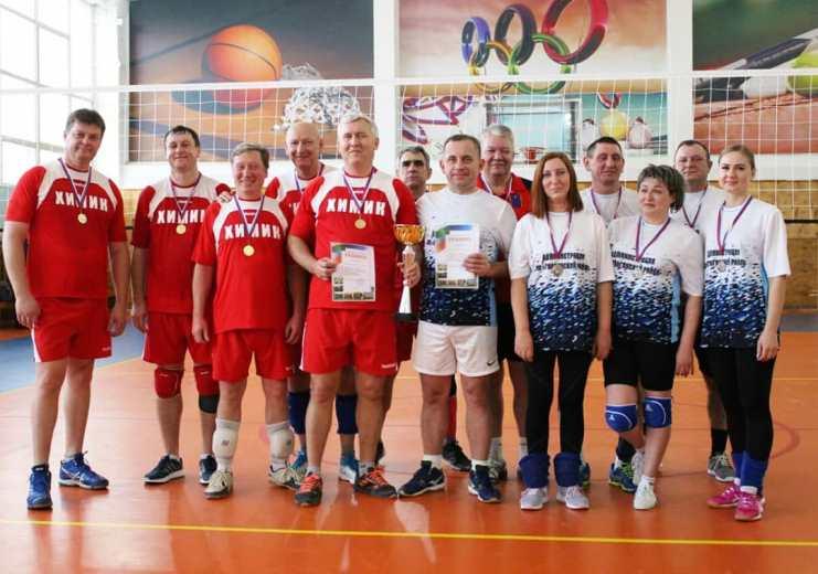 Администрации Гиагинского и Белореченского районов сошлись на волейбольной площадке
