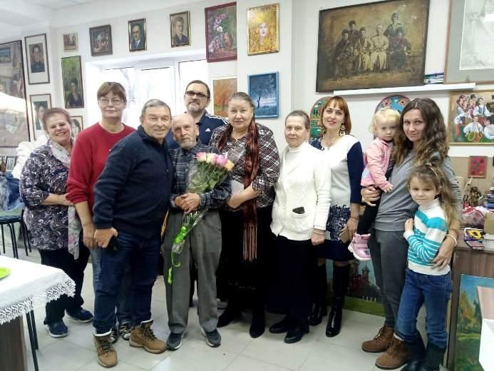 Художнику Забурунову — 91 !