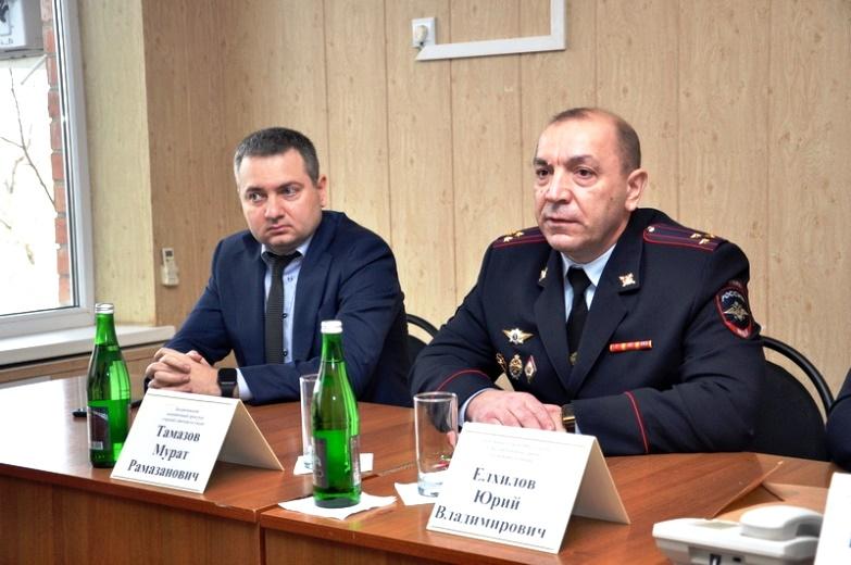 Назначен новый начальник Отдела МВД России по Белореченскому району