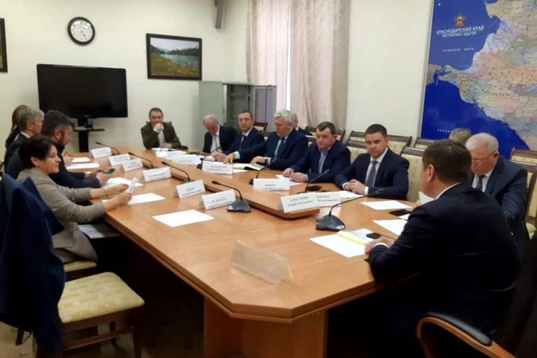 Состоялось первое заседание  рабочей группы по Белореченскому полигону