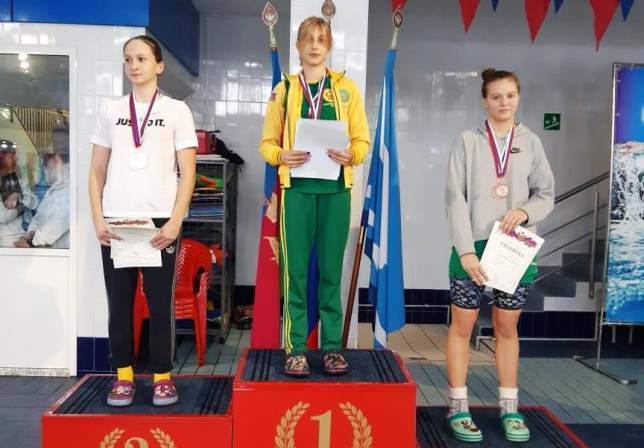Плавание: Чемпионат и Первенство Краснодарского края — 2-е место за белореченской командой