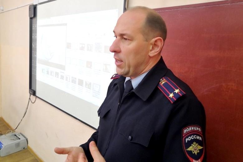 Об опасности наркотиков школьникам рассказывают полицейские