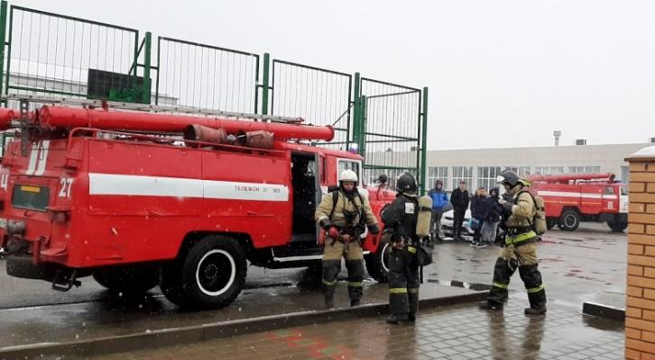 Пожарно-тактические учения прошли в филиале АГУ