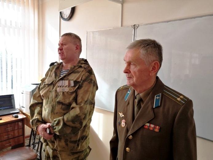 Полицейские проводят Уроки мужества в Белореченском районе