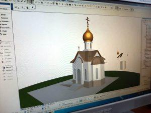 строительство храма Святого Фаддея на хуторе Фадеевском