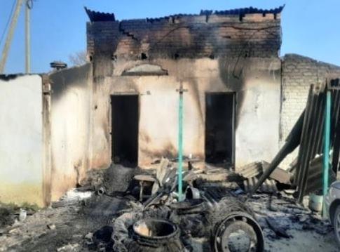 При пожаре в Белореченском районе погиб мужчина