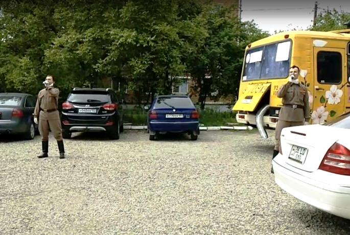 Поздравительные группы выдвинулись на маршруты по Белореченскому району