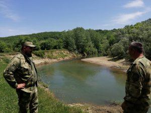 казаками дружинниками природоохранной дружины Белореченского РКО