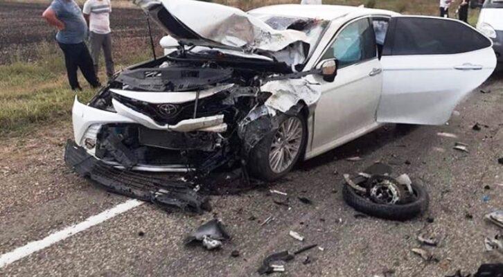 В Белореченске в ДТП  погиб мотоциклист и семь человек пострадали
