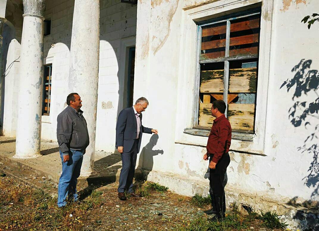 Верхневеденеевский дом культуры реанимируют