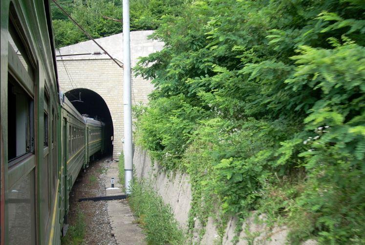 Расписание пригородного поезда «Гойтх-Белореченск» на время ремонта туннеля