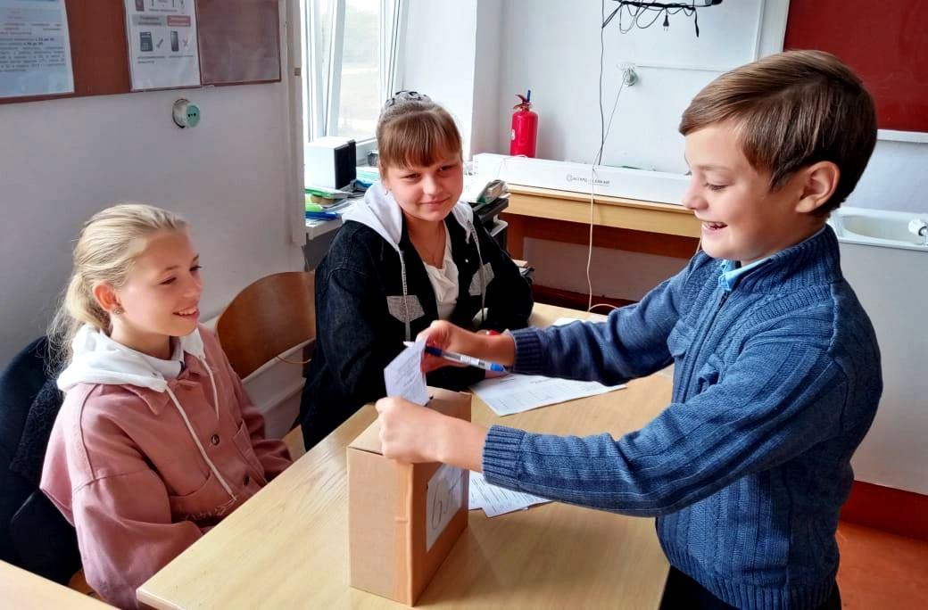 В Белореченском районе выбрали Президентов школ