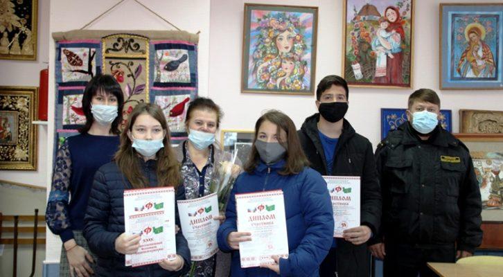 Учащимся Детской художественной школы Белореченска вручили дипломы и призы Межрегионального фестиваля казачьей культуры