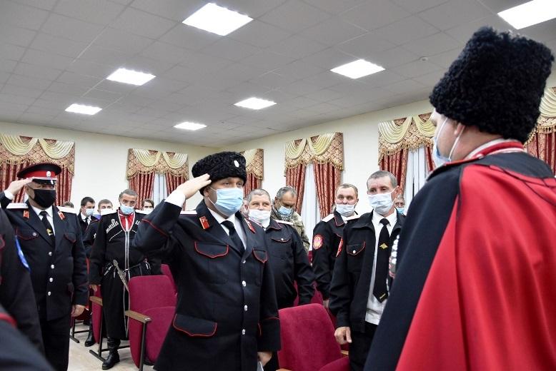 Отчет атамана Белореченского РКО