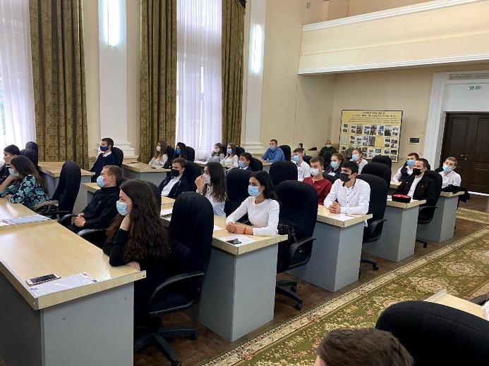 В Белореченске состоялось заседание ученического совета муниципального образования