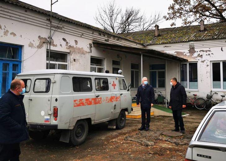 Великовечненская амбулатория надеется на финансирование капитального ремонта
