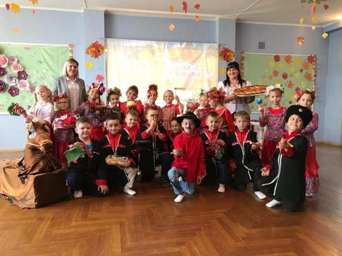Казачья Ярмарка в детском саду №16