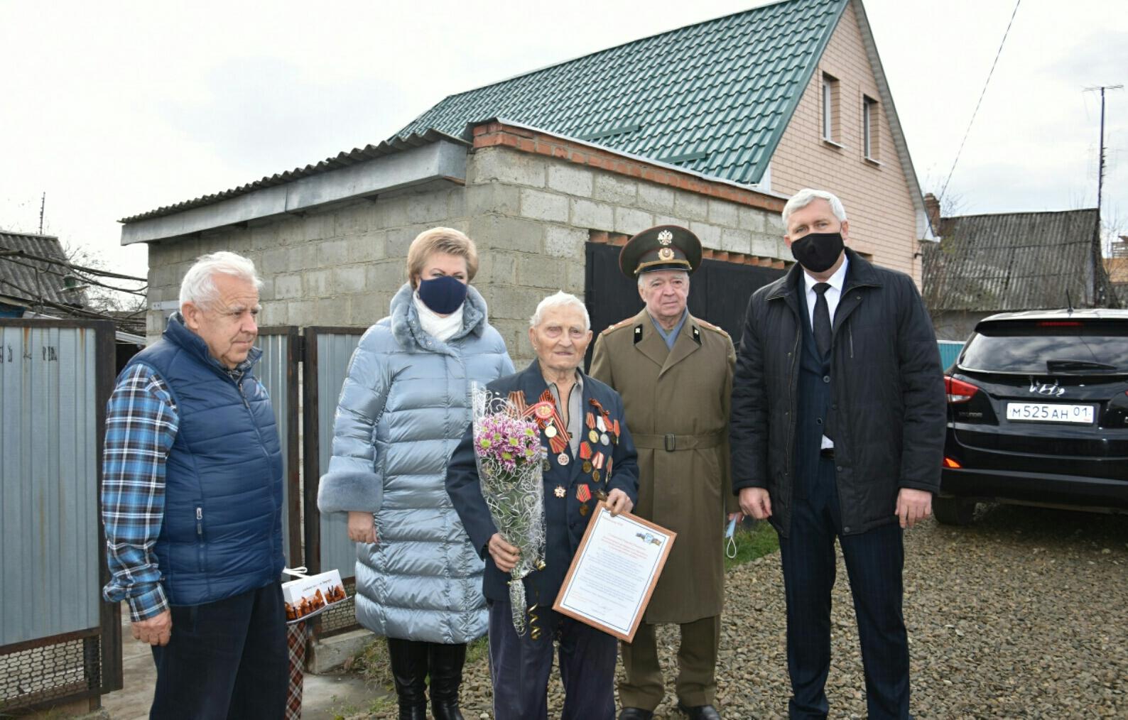 Ветерану войны исполнилось 100 лет!