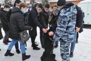 Белореченске студенческий десант прошел стажировку в отделе полиции