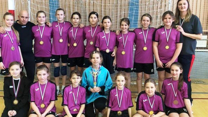 Белореченские гандболистки завоевали бронзу