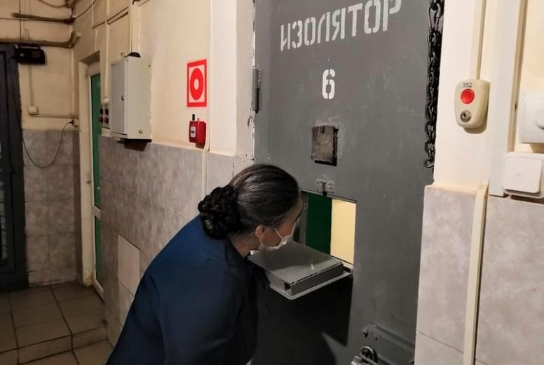 В Белореченске представители Общественного совета при Отделе проверили работу мест принудительного содержания граждан