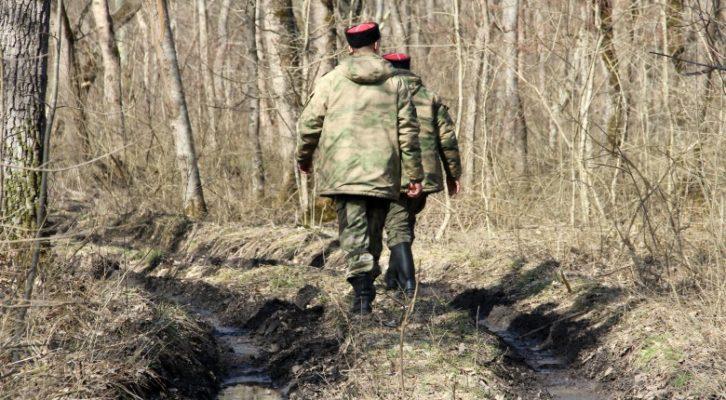Рейд казаков дружинников природоохранной дружины Белореченского РКО