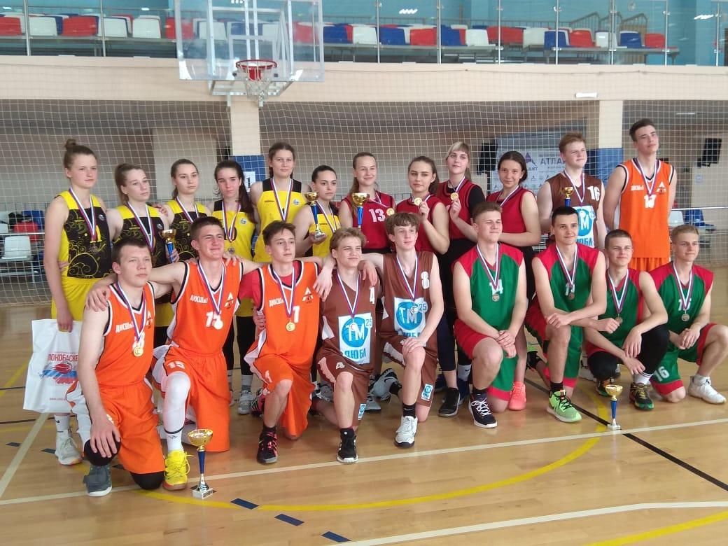 Золото баскетбола у белореченской команды