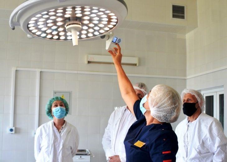 ЕвроХим-БМУ подарил центральной районной больнице Белореченска новое оборудование