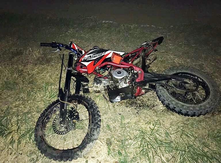 В Белореченске погиб мотоциклист без прав