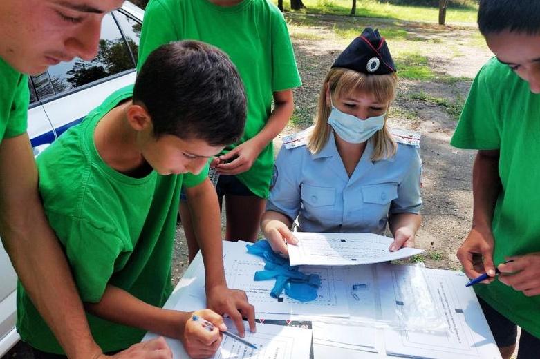 Белореченским подросткам – о полиции из первых рук