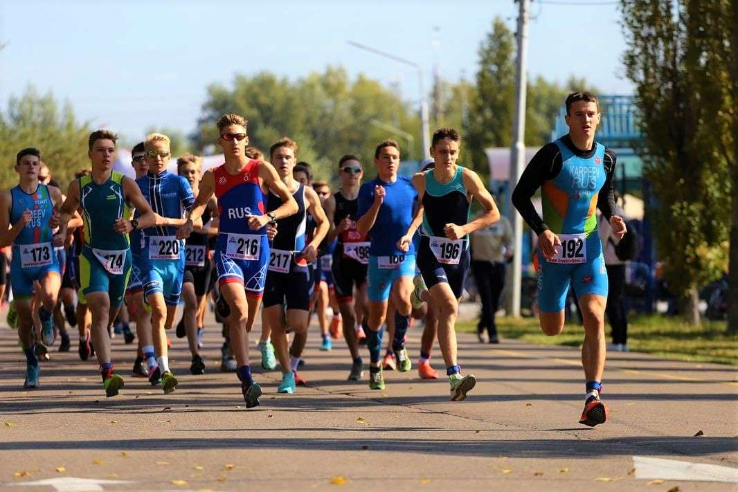 Золото триатлона добыто белореченцами в Красноярске